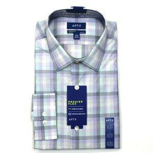 Apt. 9 Slim-Fit Dress Shirt - L 16-16.5, 32/33